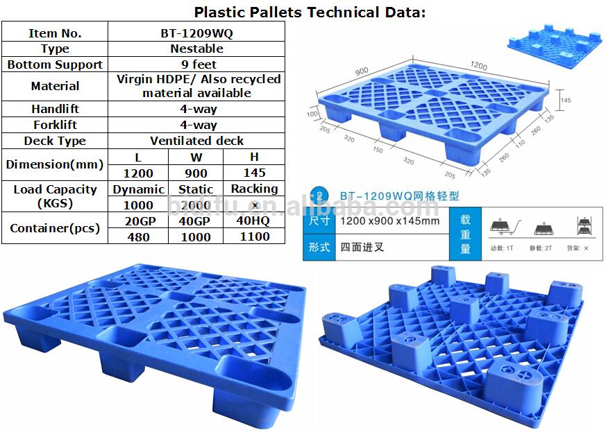 Distributor Pallet Plastik Bekasi